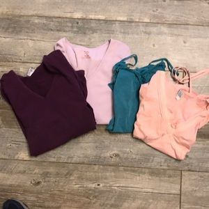 Bundle of Old Navy maternity shirts